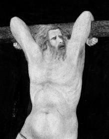 Szenen der Passion Christi — Kreuzigung