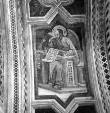 Kapellenausmalung — Heilige der Fensterlaibungen