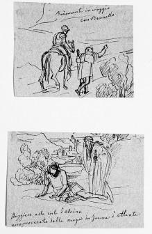 Ruggiero und Atlante (Ariost, Orlando Furioso)