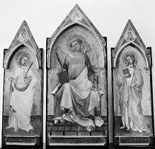 Triptychon mit den Heiligen Laurentius, Ansanus und Margarete