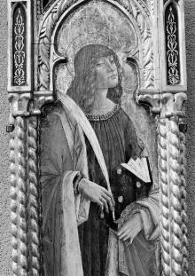 Polyptychon — Heiliger Johannes Evangelist