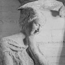 Reliefserie mit Stadtpatronen italienischer Regionen — Martyrium (Enthauptung?) der heiligen Justina, der Patronin Parmas