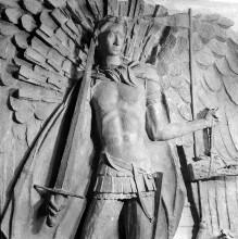 Gedenktage. der Heiligen Adolar und Eoban im Erfurter Dom wird um 1350 datiert.