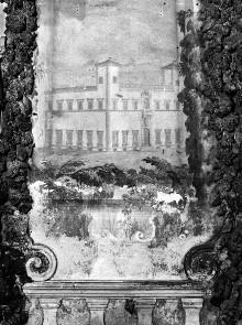 Innenausstattung — Ansicht der Villa Le Corti in San Casciano