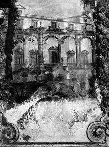 Innenausstattung — Ansicht des Casino Corsini al Prato
