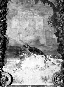 Innenausstattung — Ansicht des Casino dei Quattro Venti in Rom