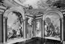 Geschichte des Herkules — Deckendekoration