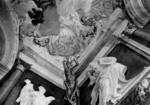 Geschichte des Herkules — Deckendekoration — Herkules tötet die Hydra von Lerna