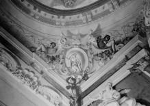 Geschichte des Herkules — Deckendekoration — Herkules ruhend