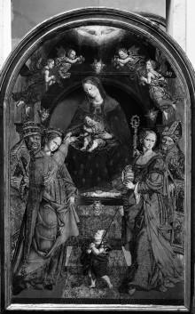 Mystische Vermählung der Heiligen Katharina