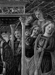 Madonna mit Orchester