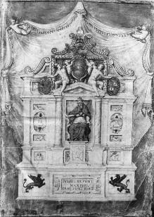Annalen des Dezemvirats von 1553 — Monument für Julius III, Folio 2 recto