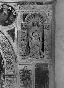 Altar der Madonna del Rosario — Nischenfiguren