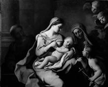Heilige Familie mit den Heiligen Anna und Johannes dem Täufer