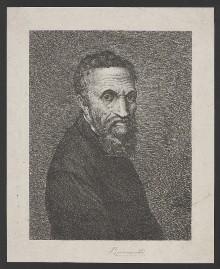 Bildnis des Michelangelo Buonarroti