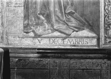 Fresken — Franziskusszenen — Die Stifterfiguren