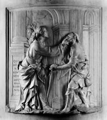 Allegorie der Ernüchterung — Christus heilt einen Blindgeborenen