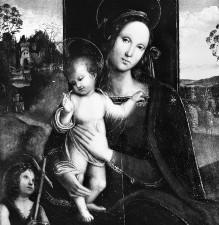 Madonna mit dem Johannesknaben