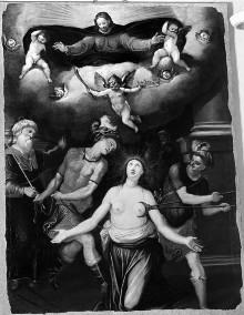 Martyrium der heiligen Agathe