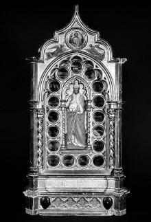 Reliquiar, dem heiligen Nikolaus von Bari geweiht