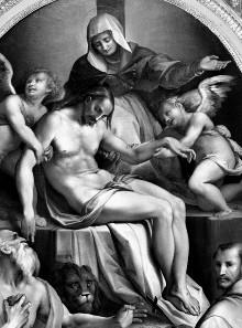 Pietà mit den Heiligen Hieronymus und Franziskus