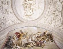 Szenen aus Homers Ilias — Hektor im Kampf gegen Ajax