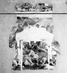 Verherrlichung der Künste in der Toskana und die Götter des Olymp — Deckenfresko Verherrlichung der Künste in der Toskana und die Götter des Olymp