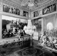 Image from object titled Palazzo Reale —; Innenraum der Sala delle Guardie del Corpo