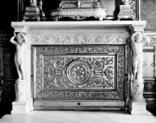 Thronsaal des Palazzo Reale von Turin — Kamin