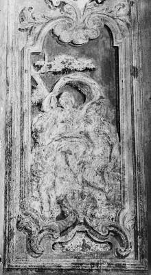 Thronsaal des Palazzo Reale von Turin — Mythologische Szene mit einer weiblichen und männlichen Gottheit