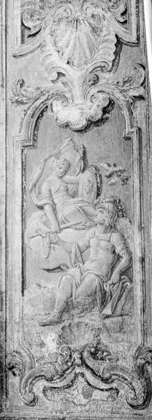 Thronsaal des Palazzo Reale von Turin — Thetis reicht Achilles die Waffen