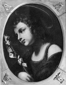 Porträt von Johannes der Täufer als Kind