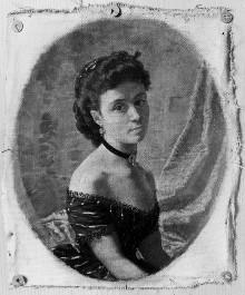 Bildnis der Ehefrau Alvina