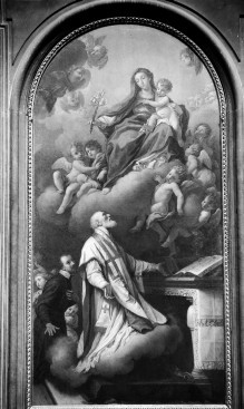 Dem heiligen Filippo Neri erscheint die Madonna