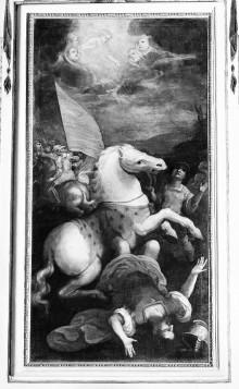 Kapellendekoration — Bekehrung des heiligen Paulus