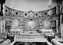Kapellendekoration — Gewölbedekoration