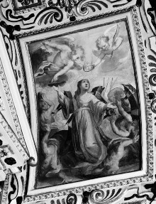 Kapellendekoration — Gewölbedekoration — Martyrium der heiligen Katharina von Alexandrien