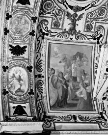 Kapellendekoration — Gewölbedekoration mit Darstellungen aus dem Marienleben