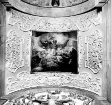Innenausstattung — Chorkapelle — Gottvater zwischen Engeln