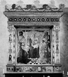 Altarbild — Predella