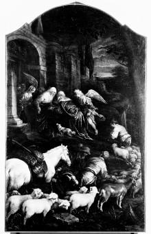 Altartafel — Begegnung an der Goldenen Pforte