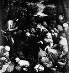 Altarbild — Predigt Johannes des Täufers