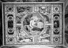 Kapellendekoration — Deckendekoration mit Szenen aus dem Alten Testament (Adam und Eva, Kain und Abel)