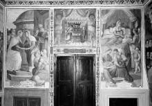 Kapellendekoration — Szenen aus dem Leben Mariens