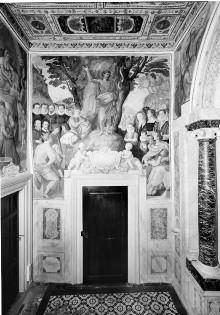 Kapellendekoration — Predigt Johannes des Täufers