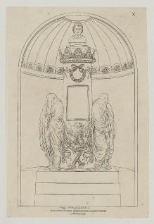 Grabmäler der Certosa von Bologna — Das ehemalige Grabmal für Gerolamo Bolognini Amorini
