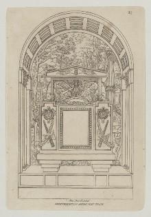 Grabmäler der Certosa von Bologna — Grabmal für Ercole Orsi
