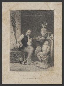 Bildnis des Benvenuto Cellini in seinem Atelier