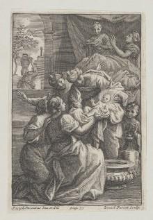 Szenen der Heilsgeschichte — Mariengeburt