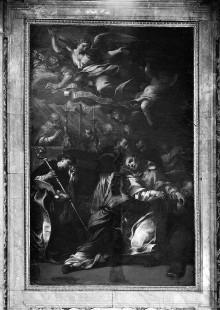 Altar Pannocchieschi d'Elci: Tod des Heiligen Thomas von Villanova